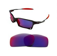 NEW POLARIZED CUSTOM  LIGHT +RED LENS FOR OAKLEY X SQUARED SUNGLASSES